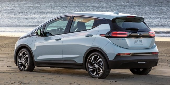Chevrolet Bolt cars were outlawed
