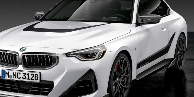 New BMW 2-Series coupe complete with M Performance