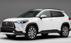 The new crossover Toyota Corolla Cross will go on sale in October