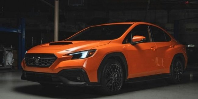 Revealed the appearance of the new Subaru WRX