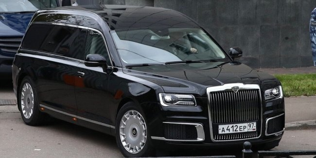 In Russia, a hearse for Putin is ready (photo)