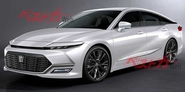 """True to the """"crown"""": the first images of the new Toyota Crown"""
