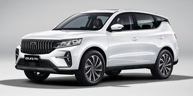 Geely Vision X6 received update P