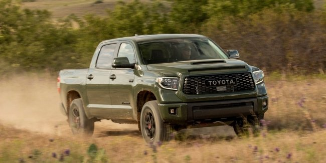 And Tundra was with a fire: Toyota will withdraw 158 thousand pickups