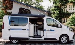 Renault Trafic turned into a camper