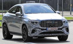Updated GLE Coupe went to the tests