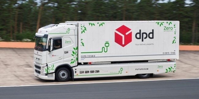 More than a thousand kilometers on a single charge: electric truck Futuricum
