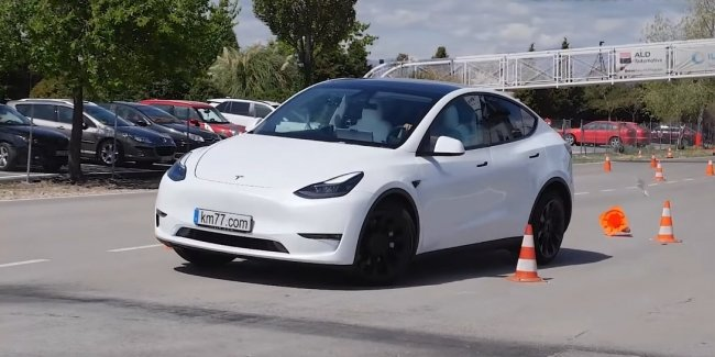 """Best in the """"moose test"""": an amazing result of the Model Y"""