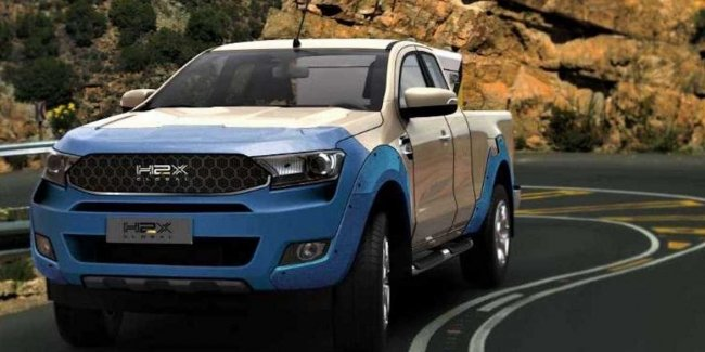Hydrogen version of the Ford Ranger to market