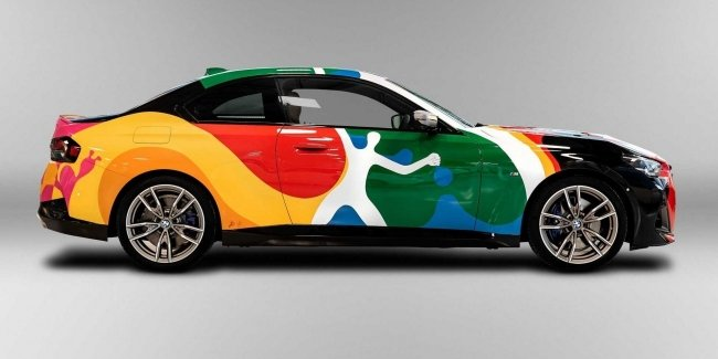 Hola, BMW: 2-Series in the colors of the German and Mexican flags