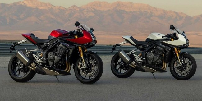 Triumph Speed Triple 1200 RR: style and speed in English