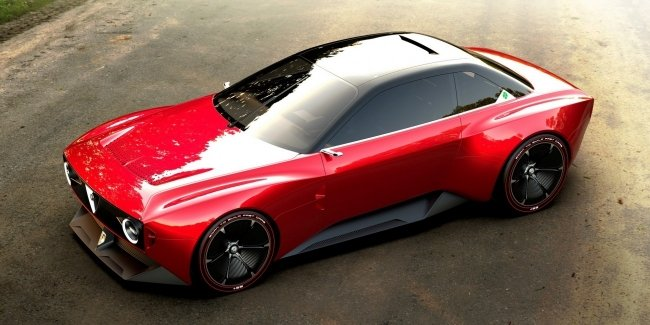 The network got the first renders of alfa Romeo GTS 2025