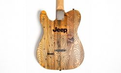 Jeep released a guitar from the wood of abandoned houses in Detroit