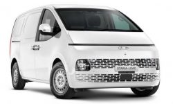 More space: Hyundai has released a van based on Staria
