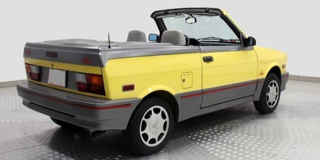 Worse nowhere: a convertible for 12 thousand dollars