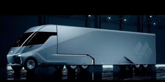Chinese Baidu has developed a competitor to the electric truck Tesla Semi