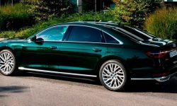 Audi introduced the A8 L of the new model year