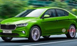 The first image of the new Skoda Slavia