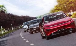 XPeng spoke about the sales of its flagship sedan P7