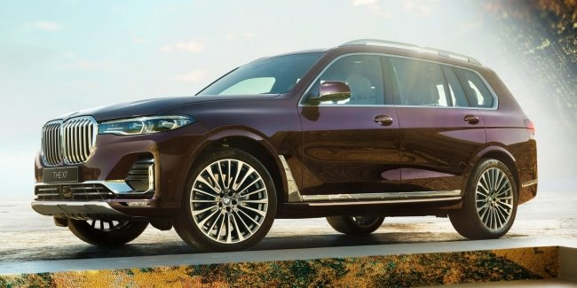 Only Japan: very rare BMW X7