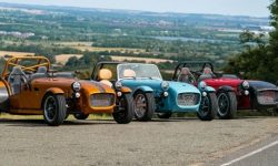 Caterham Seven 170 has become a new base model of the brand