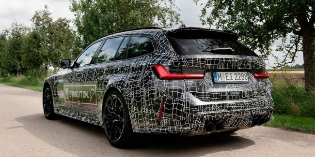 The first photo of the 510-strong M3 station wagon