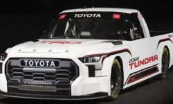 """The new """"Tundra"""" went to the track"""