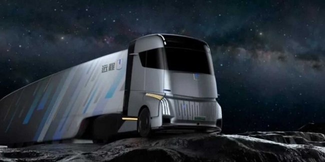 Geely will present a luxury truck Energy