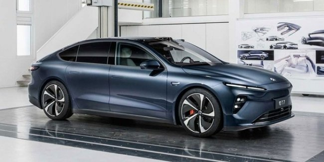 Electric car Nio ET7 almost caught up with the Mercedes EQS