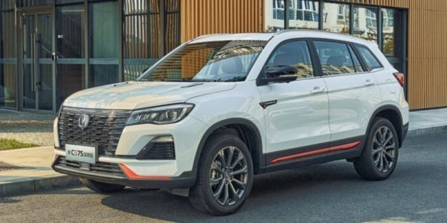 Crossover Changan CS75 received a new version