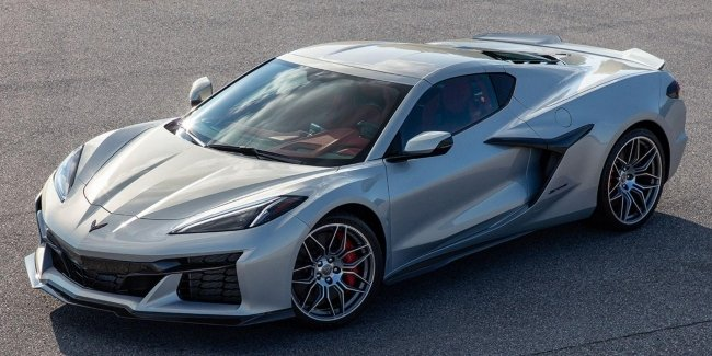 The last of the Corvette family: the first photo of the Z06 version