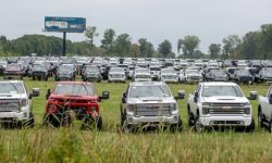 In the United States discovered a cemetery of new cars General Motors