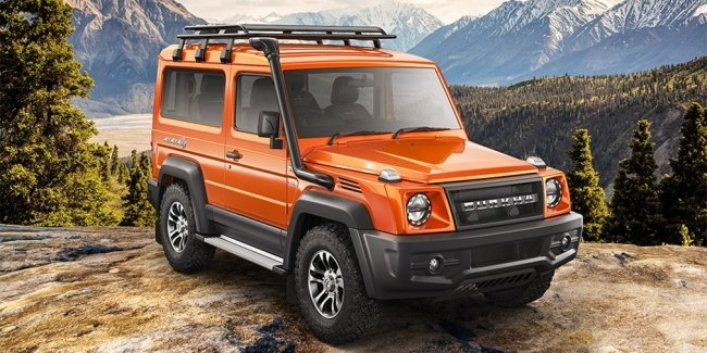 """Indian point """"G"""": sales of the new SUV Force Gurcha started"""