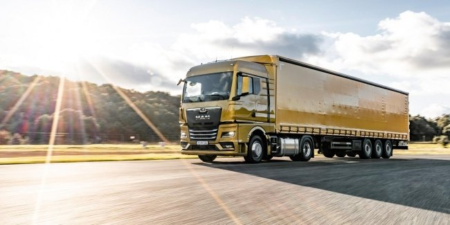 MAN prepares an electric truck with a power reserve of 500 km