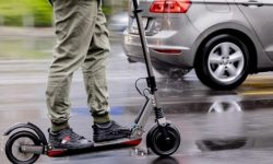 Rode for 17.000: a fine for the driver of an electric scooter