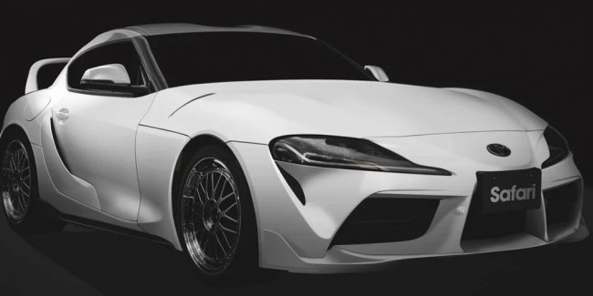 Presented a package of improvements for Toyota Supra