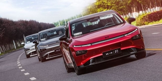 XPeng reduces initial prices for its flagship sedan