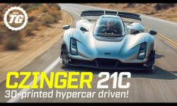 World Exclusive! CZINGER 21C FIRST DRIVE: $2m, 1,233bhp 3D-printed hypercar