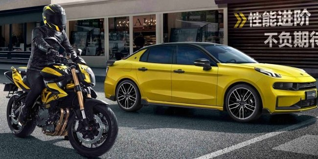 Serious Player: Chinese Motorcycle Lynk Co
