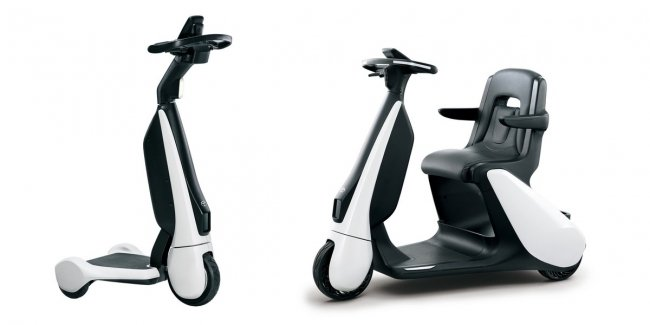 Toyota has released a smart electric scooter for $ 3,000