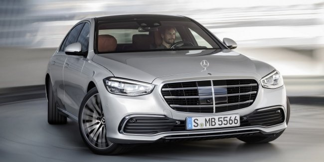 Mercedes S-class will be registered in India
