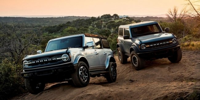 Taking orders for the Ford Bronco 2022 model year will open on October 13