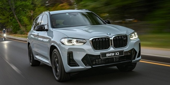 Almost M-ka: BMW has officially unveiled the updated X3 M40i