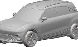 The new electric crossover smart showed on patent images