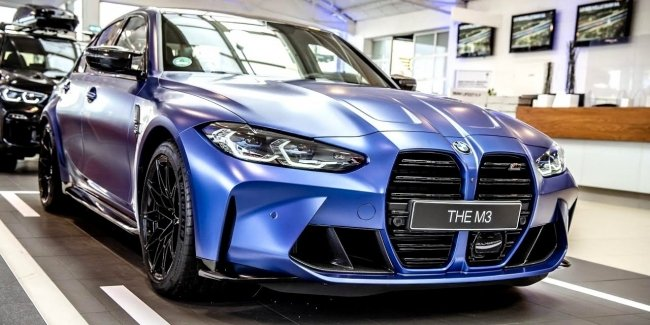 """And yet with them… The first images of the """"charged"""" wagon BMW M3"""
