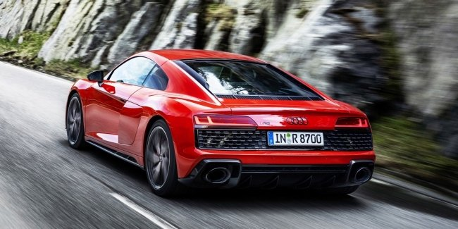 The Audi R8 has become more powerful