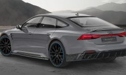 Atelier Mansory presented its version of the Audi RS 7