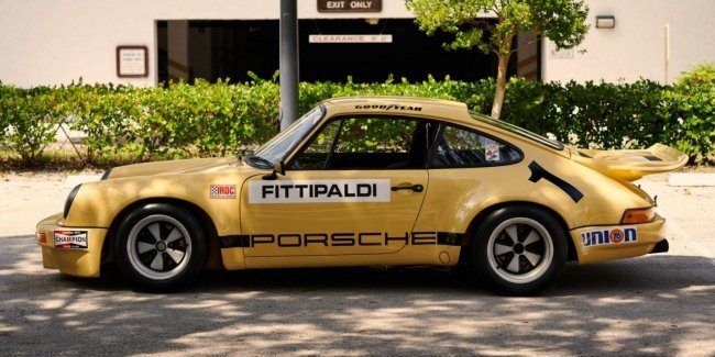 Escobar's Porsche: Drug Lord's 911 RSR Is Up For Sale Again