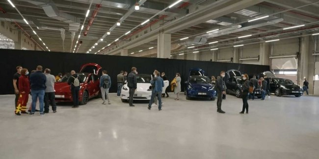 At last! Tesla officially opened a plant in Berlin