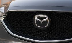 The design of the new crossover Mazda got into the Network